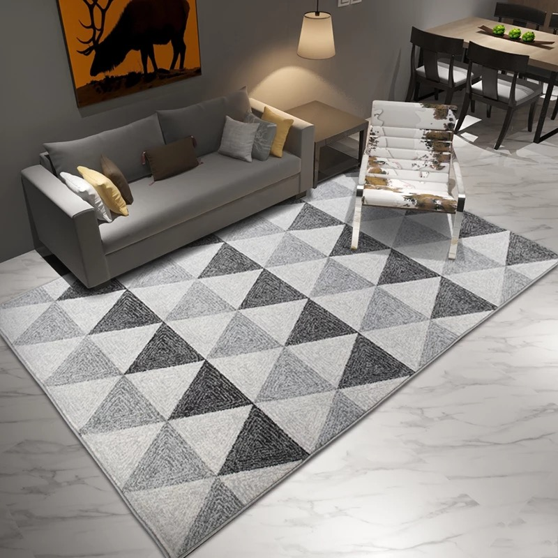 Nordic gray carpet Area rugs bedroom rugs Non-slip Floor Rug super soft Decorative Carpet for living room tapeteNordic gray carpet Area rugs bedroom rugs Non-slip Floor Rug super soft Decorative Carpet for living room tapete