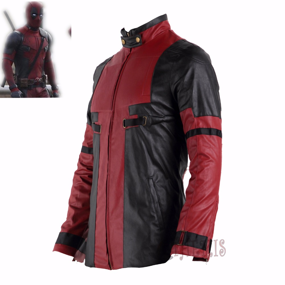 Deadpool  cosplay Wade Winston Wilson cosplay costume  Hero man kids jacket Halloween coat Any Size outfit