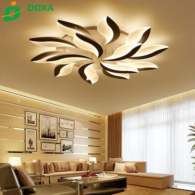 Heißer Design Acryl Moderne Led deckenleuchten Für Wohnzimmer ...