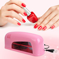 Professional EU PLUG 9W High Automatic Light Phototherapy Slide Type LED + UV Manicure Nail Art Power Lamp