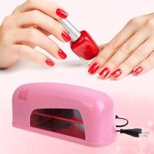 Professional EU PLUG 9W High Automatic Light Phototherapy Slide Type LED + UV Manicure Nail Art Power Lamp