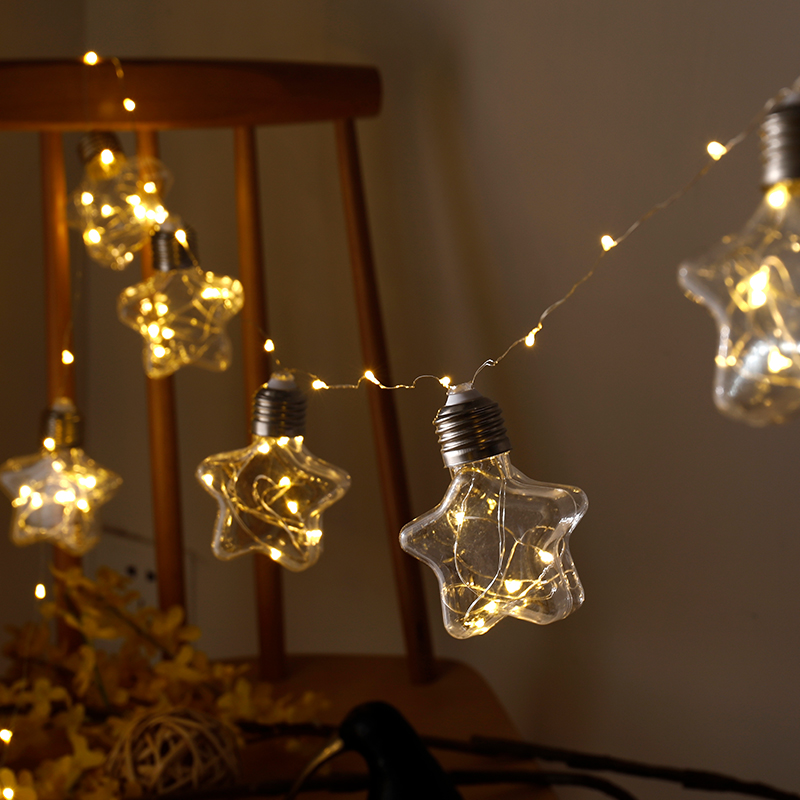Methodical 100led Fairy Light Star Bottle Battery Operated String Light 3m Led Lichtjes Decoratie For Christmas Garland New Year Gerlyanda Led String