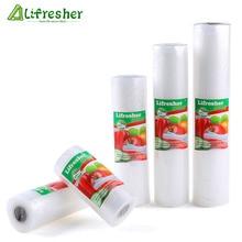 Lifresher Vacuum Sealer Bags Roll Vacuum Sealer Food Saver Bag Sac For Food Vacuum Bag 15 20 25 28 Dropshipping