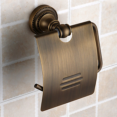 Antique Brass Ti-PVD Finish Wall-mounted Toilet Roll Holder элвис костелло elvis costello taking liberties lp