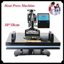 1pc 30*38cm T-shirt Swing Away Heat Press Machine/ Shaking Head Heat Transfer Sublimation Machine