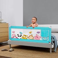 Baby safety Cartoon bed rail Lift function baby infant playing fence toddler Playpens parc para bebe barandal seguridad cama