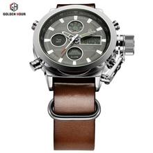 Relogio Masculino Luxury Brand Men Watches Men s Quartz Hour Analog Digital LED Sports Watch Men
