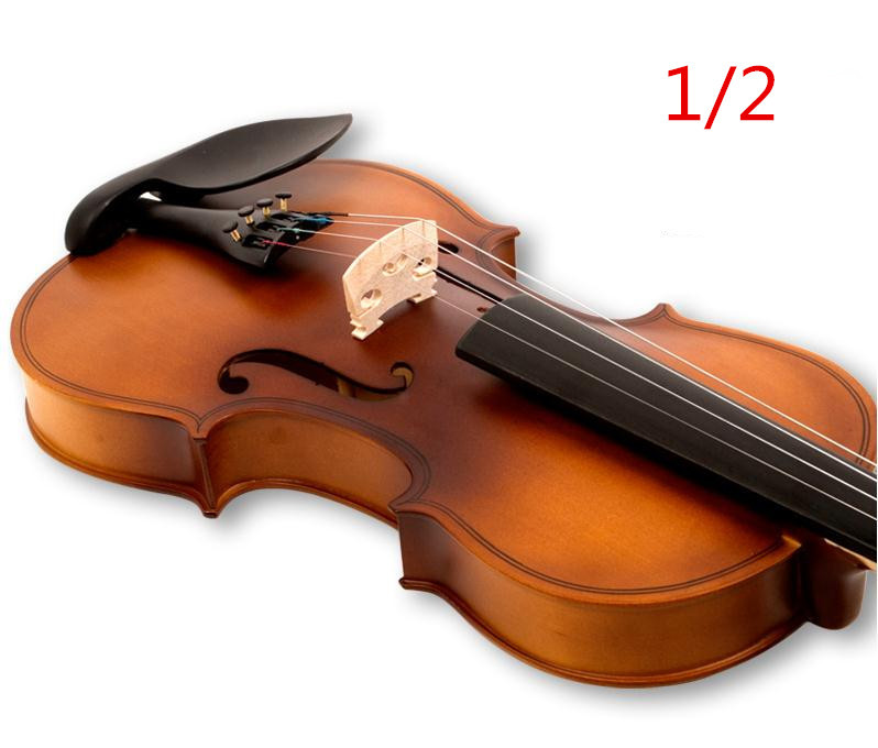 V133 High quality Fir violin 1/2 violin handcraft violino Musical Instruments Free shipping high quality white color violin 1 4 violin handcraft violino musical instruments