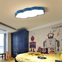 Clouds Modern Led Ceiling Chandelier For Bedroom Study Room Children Room Kids Rom Home Deco White