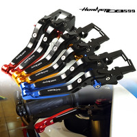 For Honda CB599/CB600 HORHET/CB500F 1998 2006 Motorcycle CNC Adjustable Folding Extendable Brake Clutch Levers CB 599 600 500F