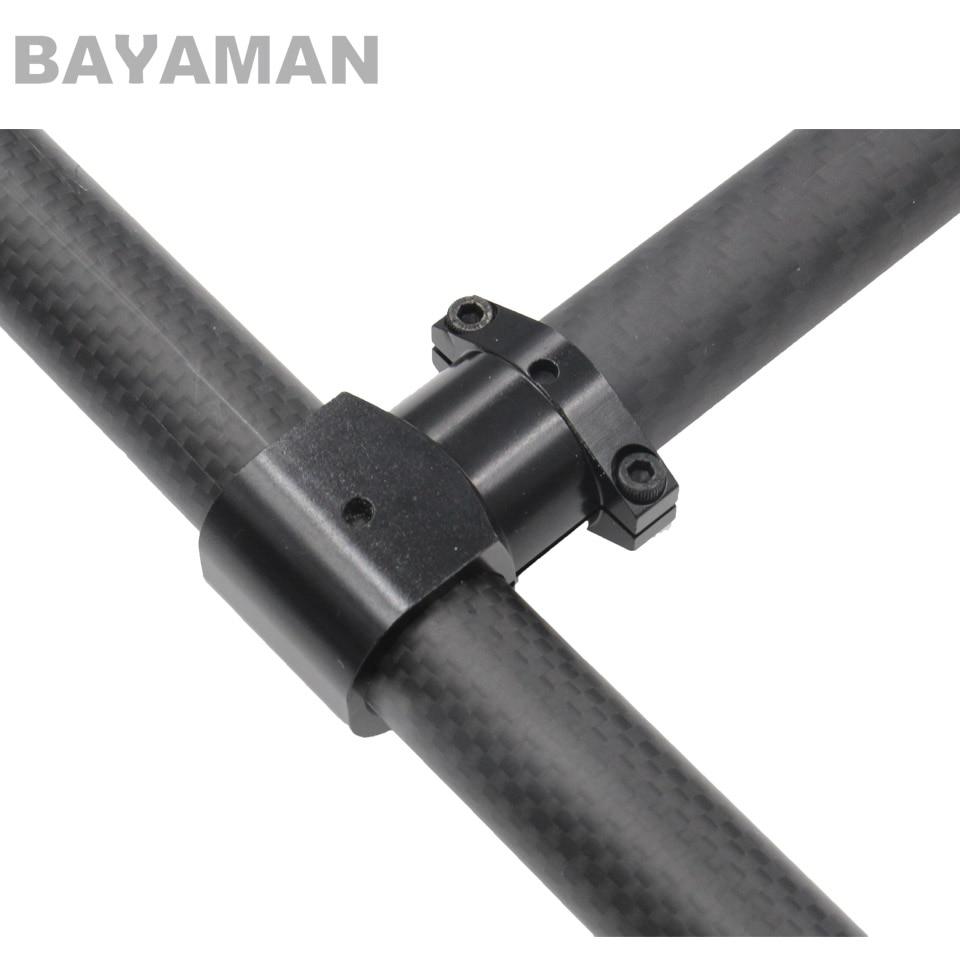 8mm-40mm Aluminum Clamp for Carbon Fiber Tube DIY Quadcopter Hexacopter