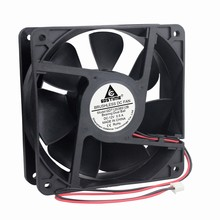 Gdstime 2-Wire Ball Bearing Brushless DC 12V 120mm Cooling Fan 120x120x38mm 12038