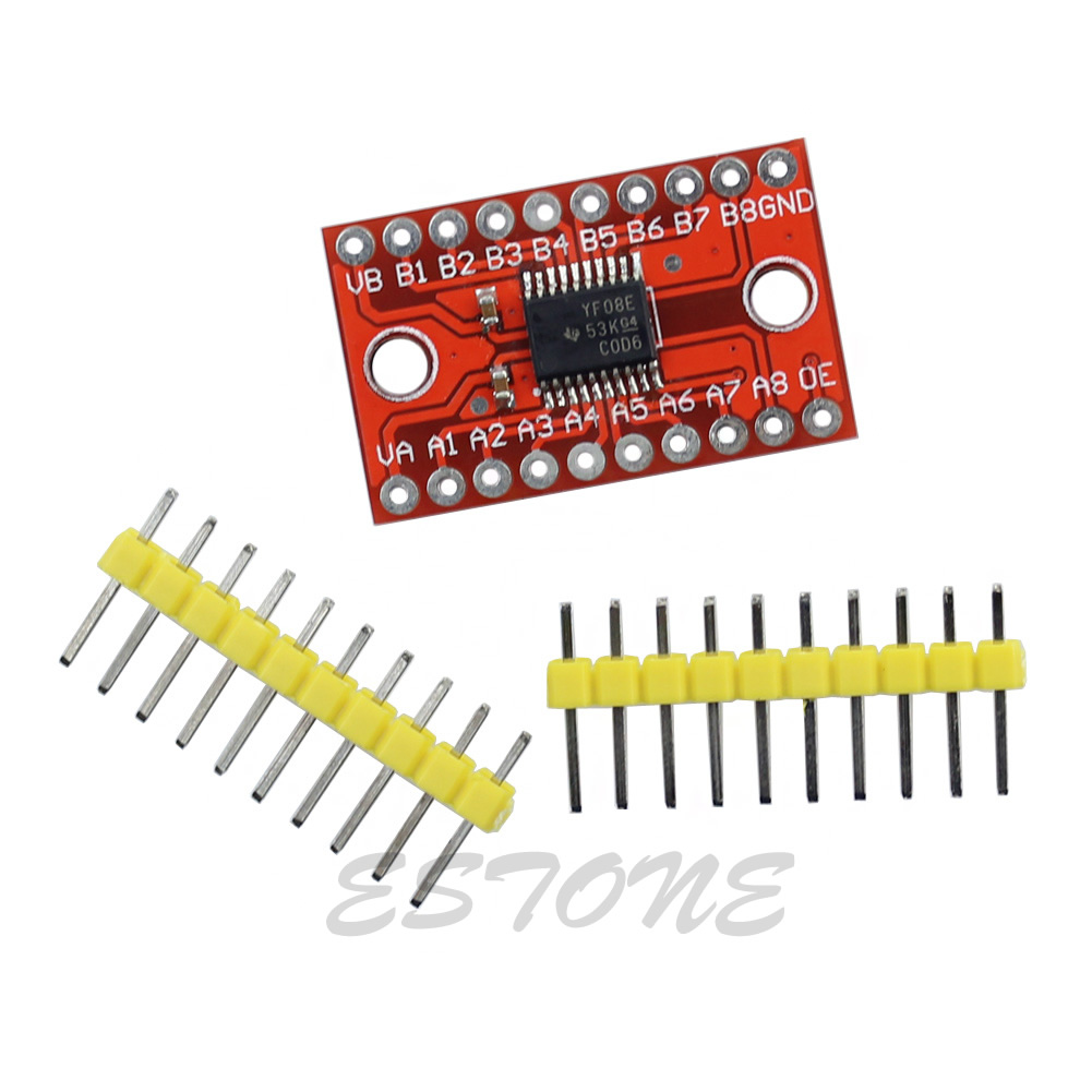 Brand Logic Level Bi-directional Converter 8-Bit 8 Channel TXS0108E Module  for Arduino