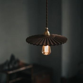 деревянные подвесные светильники стиль лофт промышленный светильник спальня винтаж светильники Hanglamp медь Penant лампы для мотоциклов