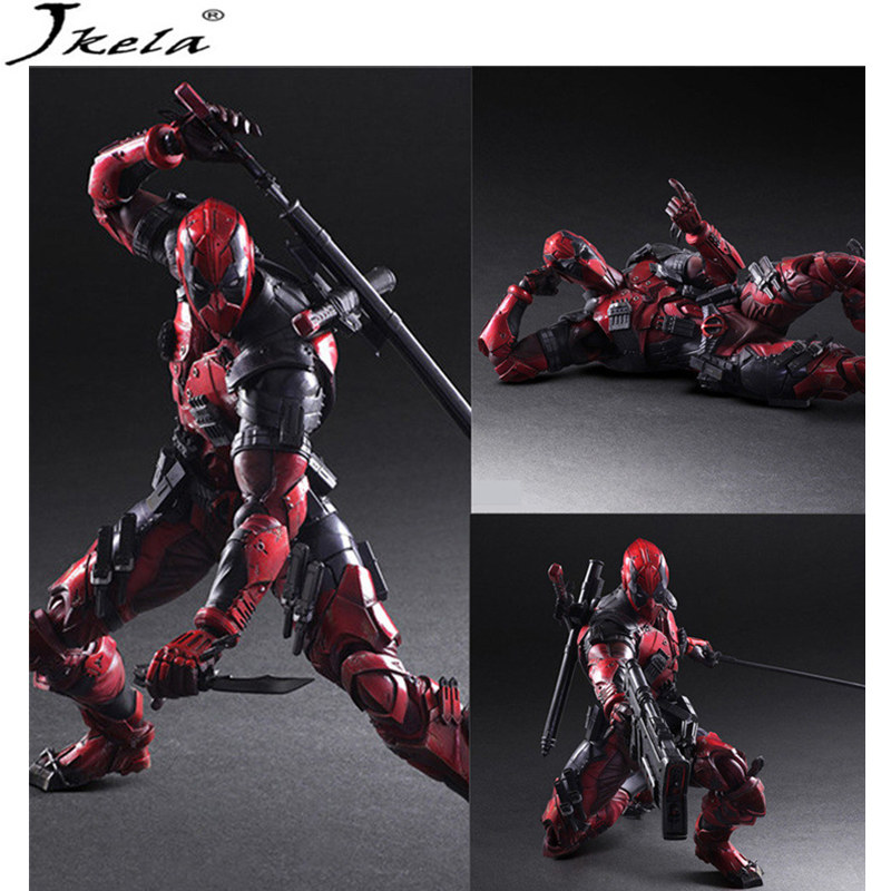 [Hot] marvelING Avengers Infinity War Super Heroes Deadpool Black Panther Model PVC Action Figure Toy Dolls Toy 26cm LegoINGly