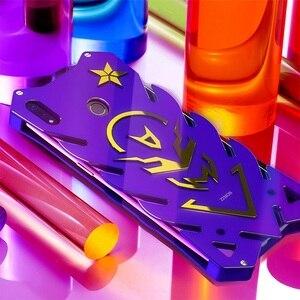 Image 3 - Винтовой чехол для Honor 10 lite мощный ударопрочный чехол для Honor 8x 8x max Zimon чехол для Honor 8c сверхмощный фиолетовый