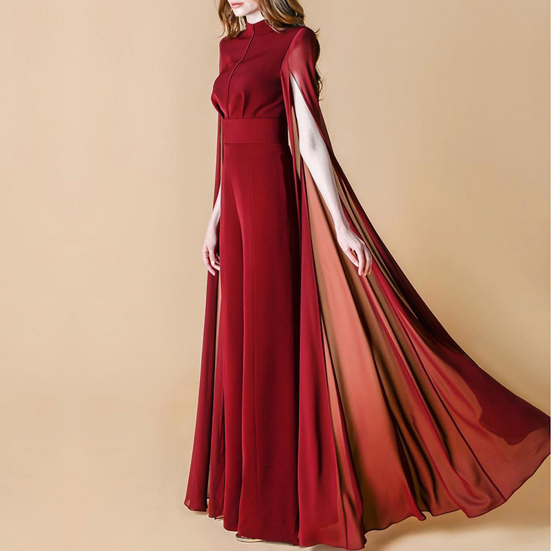 wine red jumpsuit-11