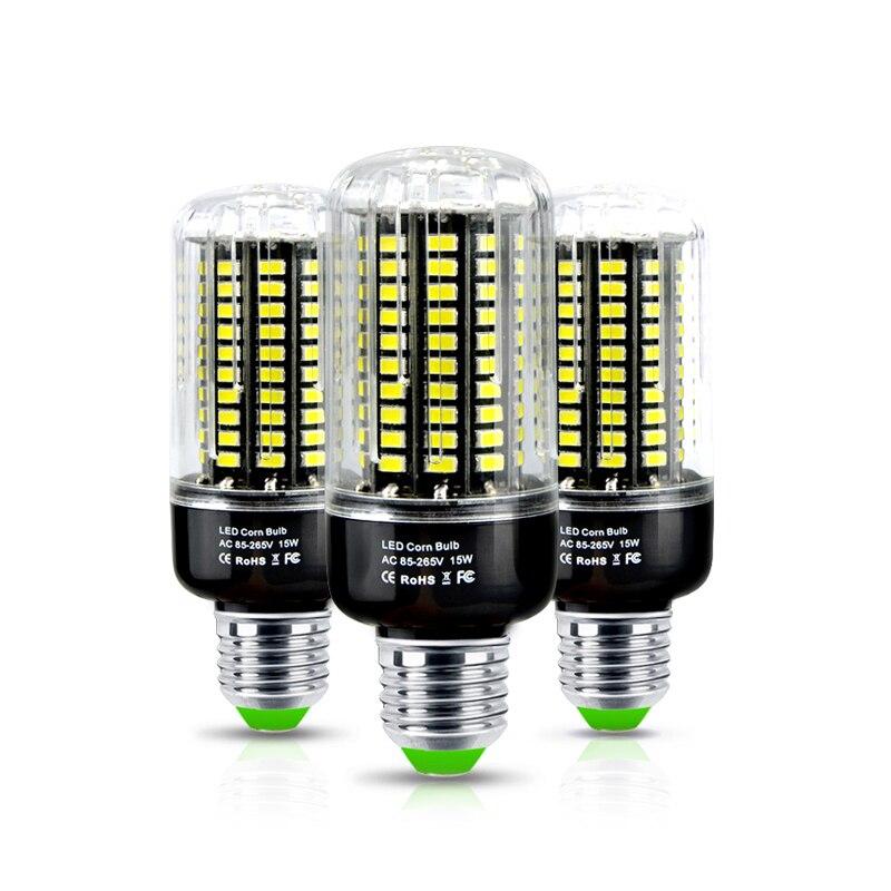 1Pcs Full Watt 3W 5W 7W 9W 12W 15W SMD 5733 E27 E14 LED Corn Bulb No Flicker Constant Current Design 85-265V LED lamp Spot light все цены