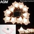 Agm mini star adorável nightlight luminaria novelty lâmpada da noite para o quarto do bebê menina dormindo brinquedo cama quarto decoração seqüência de luz