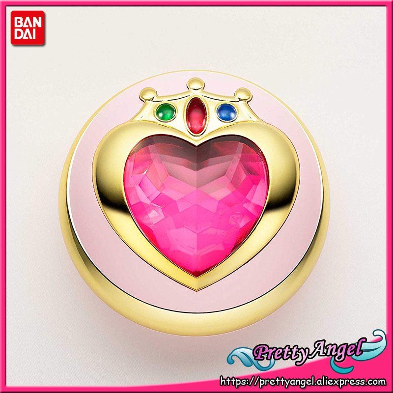 PrettyAngel - Genuine Bandai Tamashii Nations Exclusive Proplica Sailor Moon Sailor Chibi Moon Prism Heart Compact стоимость