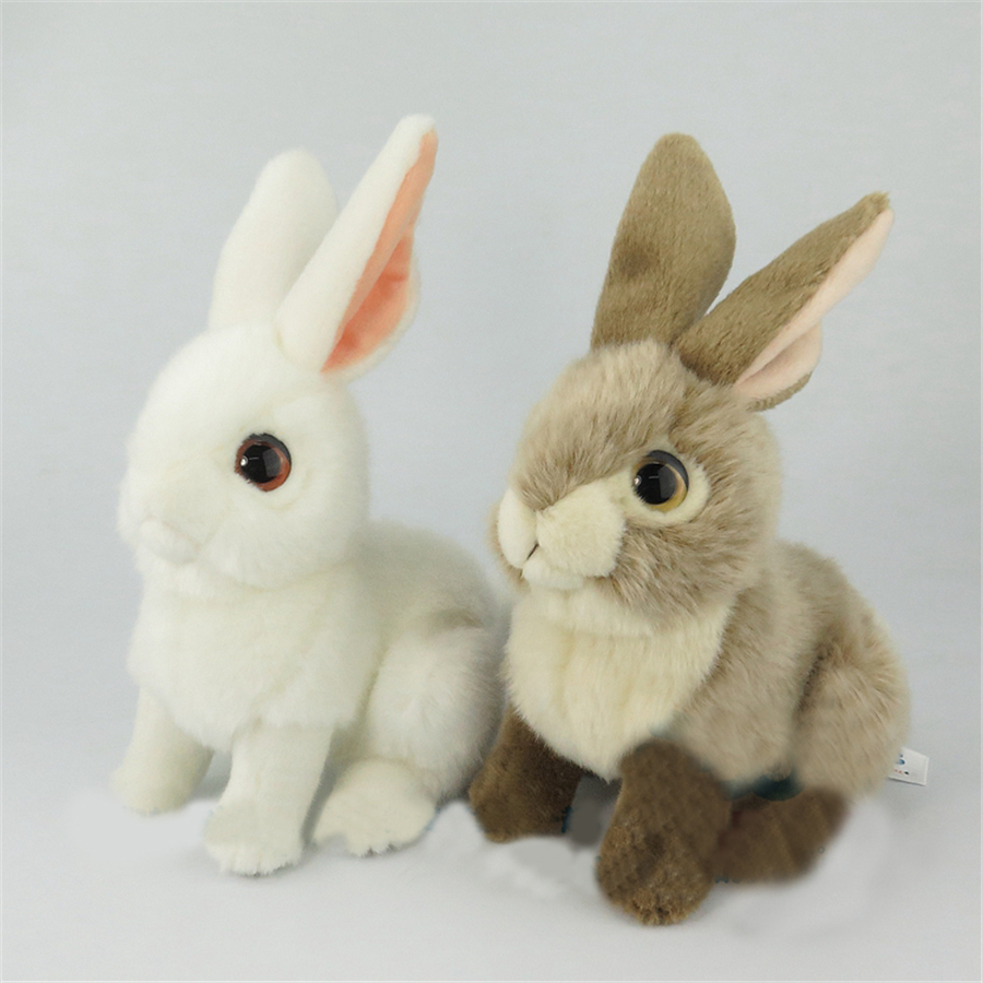 Stuffed Plush Animals Baby Dolls For Girls Hare Mini The Velveteen Rabbit Emoji Toys For Babies Plush Nano Doll Cotton 704728