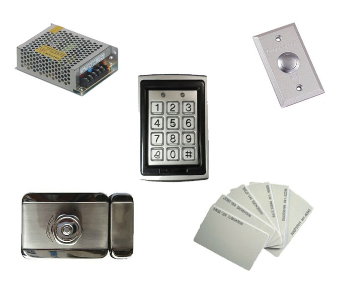 Free ship by DHL,access control kit ,waterproof access control+switch power+electric mute Lock+exit button+10 EM cards,sn:EM-T10 free ship by dhl access control kit waterproof access control switch power electric mute lock exit button 10 em cards sn em t10