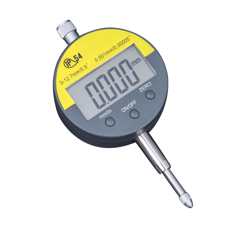 0.001mm Digital Dial Indicators 0 12.7mm/5 Range Gauge Precision Tester Tools Metalworking Tool
