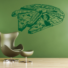 Star Wars Millennium Falcon Wall Sticker