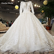 Churlya Wurfel Wedding Dresses ball gown Wedding