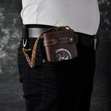 2016 neue Vieh Männer männlichen Organizal design vintage Crazy Horse Echte echtem leder Kreditkarte Große Scheckheft Brieftasche Geldbörse