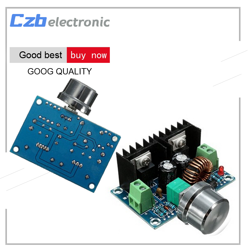 Max 8A 200W DC-DC Step Down Buck Converter Power Supply XL4016 PWM Adjustable 4-40V To 1.25-36V Step-Down Board Module 1pcs professional step down power dc dc cc cv buck converter supply module 8 40v to 1 25 36v 8a adjustable