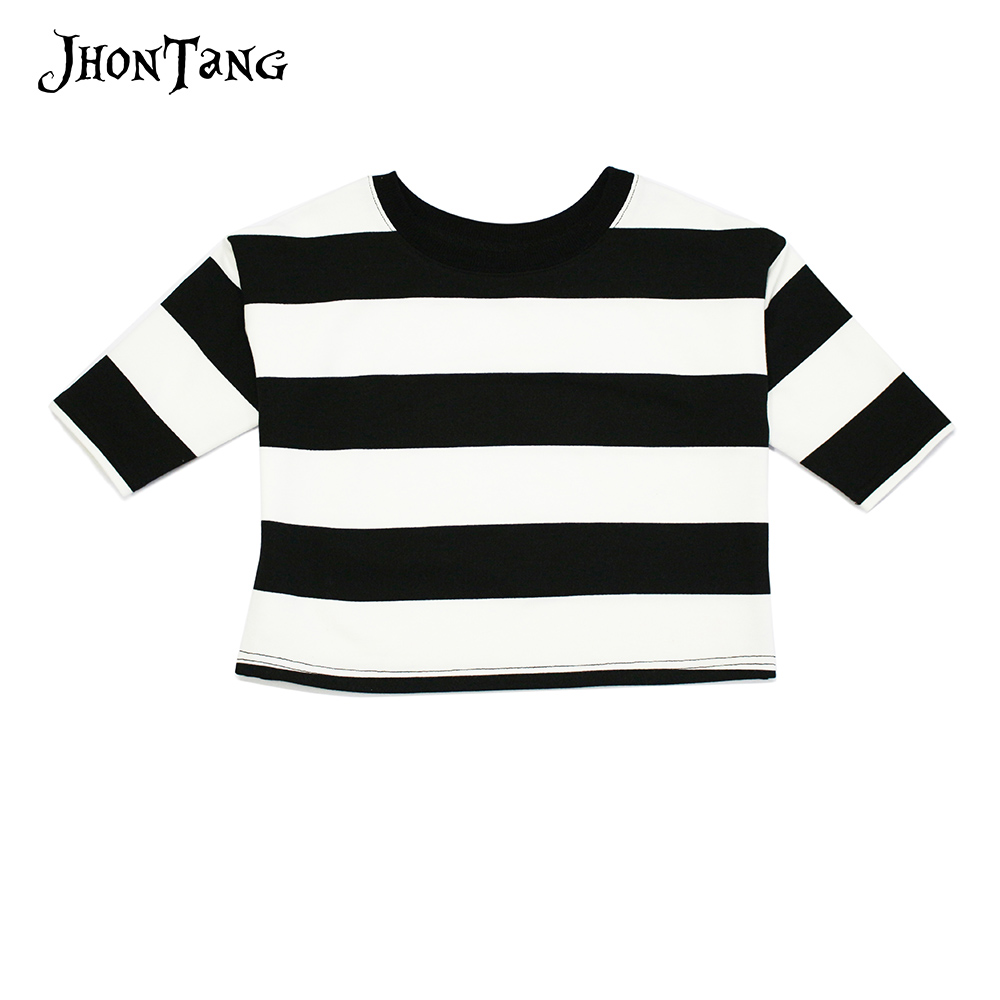 2018 New kids Clothes Baby Girl Clothing spring autumn striped Sweater girls boys O Neck T shirt baby cotton pullovers 2 6Y in T Shirts from Mother Kids