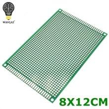 Placa universal do pwb 8*12 cm do protótipo de cobre do dobro-lado de wavgat 8x12 cm para arduino
