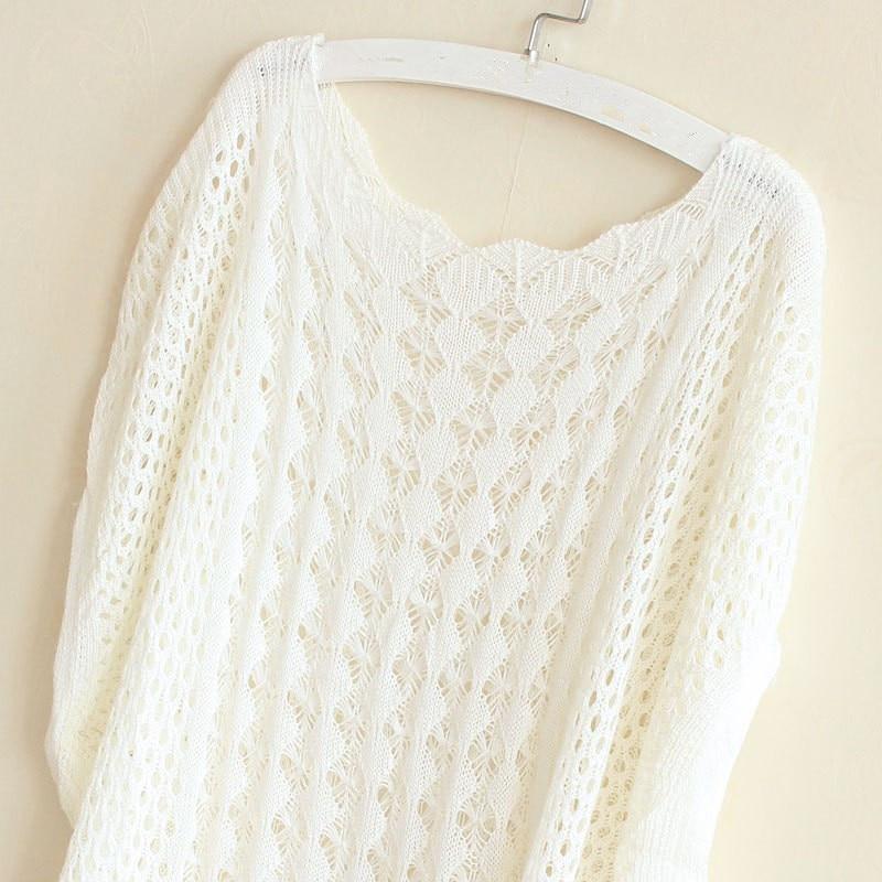 ᐊ2018 del verano del color del caramelo dulce suéter mujeres tops ...