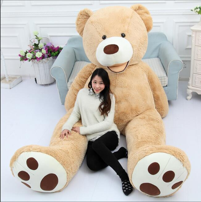 130cm Giant Bear Hull American Bear Teddy Bear Skin Factory Price Soft Toy Best Gifts For