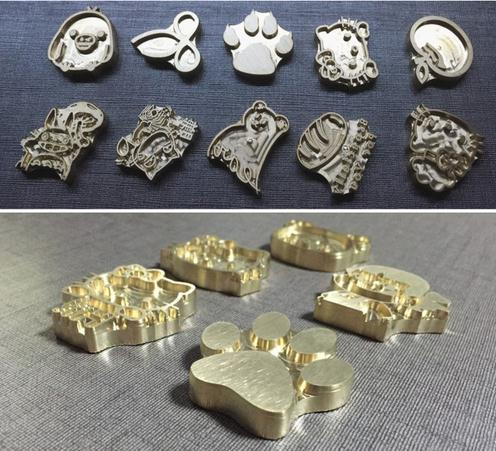700pc LOGO For Hot Brass Stamp Iron Mold Burning On Cake Personalized Mold Heating On Wood