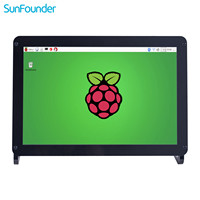 SunFounder 10 1 Inch IPS HDMI Monitor 1280 800 HD LCD Screen Display Audio With Case