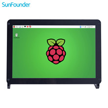 SunFounder 10,1 Zoll IPS HDMI Monitor 1280*800 HD LCD Display Audio mit Fall & lautsprecher für Raspberry Pi 3,2 Modell B + Kano