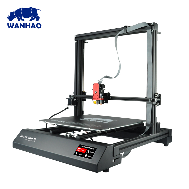 China biggest 3d system printer kit wanhao factory D9 300 400 500 industrial grade 3D color Printer machine with Auto Leveling цены