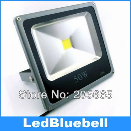 Ultra Thin 50W LED Floodlight Outdoor Light 5000LM Waterproof IP66