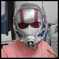 2016 Hot!!! Famous Movie Ant Man Ant Man Helmet Resin Antman Cosplay Full Head Face Mask Halloween Party for Adults in stock