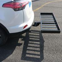 Сверхлегкий складной алюминиевый приёмник сцепка дополнительный багажник с 8 опоры черный