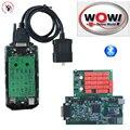 Новый дизайн + Натуральная 5.008R2 + 5.00.12 Keygen WOW Snooper CDP Bluetooth с полным телом крышка VD TCS CDP для OBD2 машин и грузовиков - фото