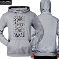 COOLMIND Brand Pink Floyd The Wall Funny Print Hoodies Men Hooded Sweatshirts Pullover Plus Size 2017