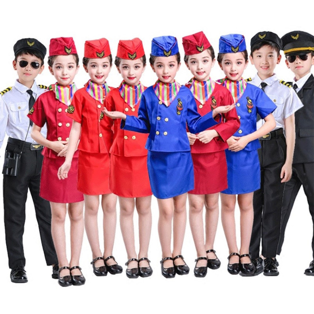 Flight Attendant Costume For Kids Best Kids Costumes