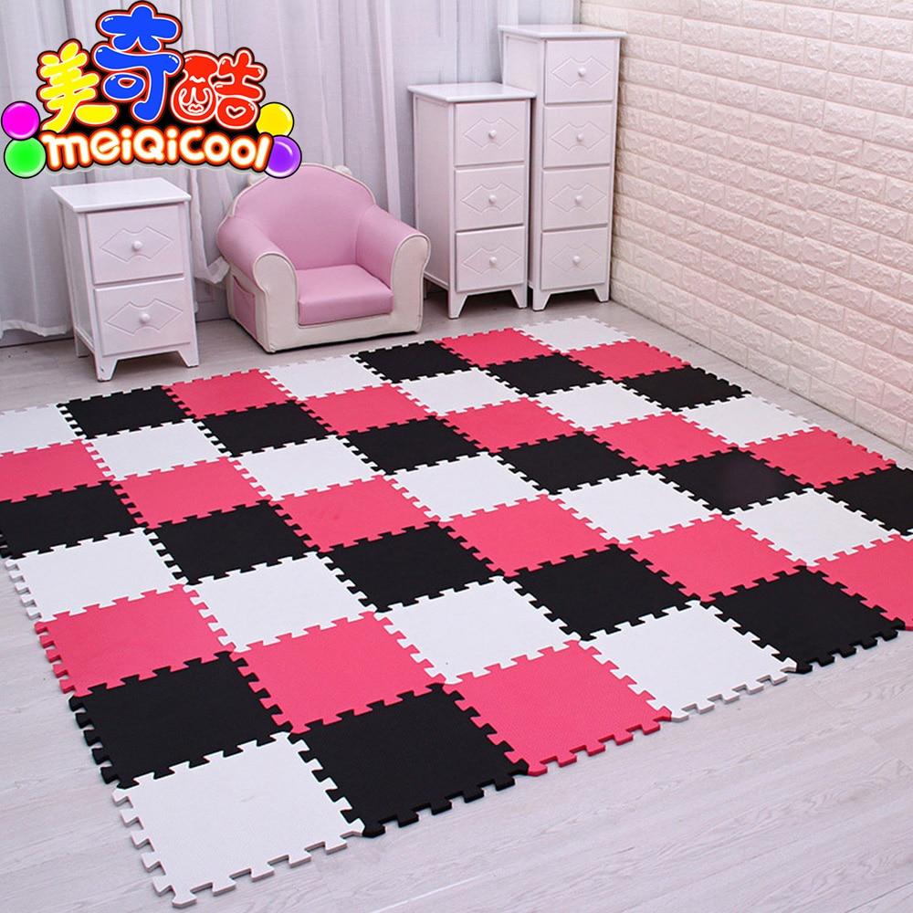 9/30 pcs/lot bébé EVA mousse entrelacement exercice Gym plancher jouer tapis tapis de protection carrelage tapis carreaux 30X30cm d'épaisseur 1cm