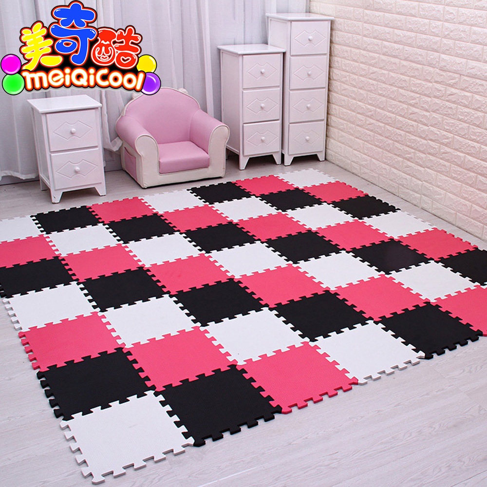 9/30pcs/lot Baby EVA Foam Interlocking Exercise Gym Floor Play Mats Rug Protective Tile Flooring Carpet Tiles 30X30cm Thick 1cm