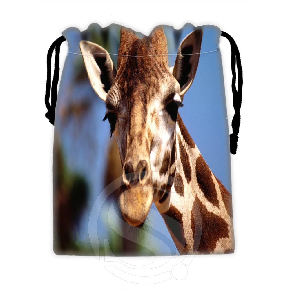 Best Nice Custom Giraffe #1 Drawstring Bags For Mobile Phone Tablet PC Packaging Gift Bags18X22cm SQ00729-@H0611