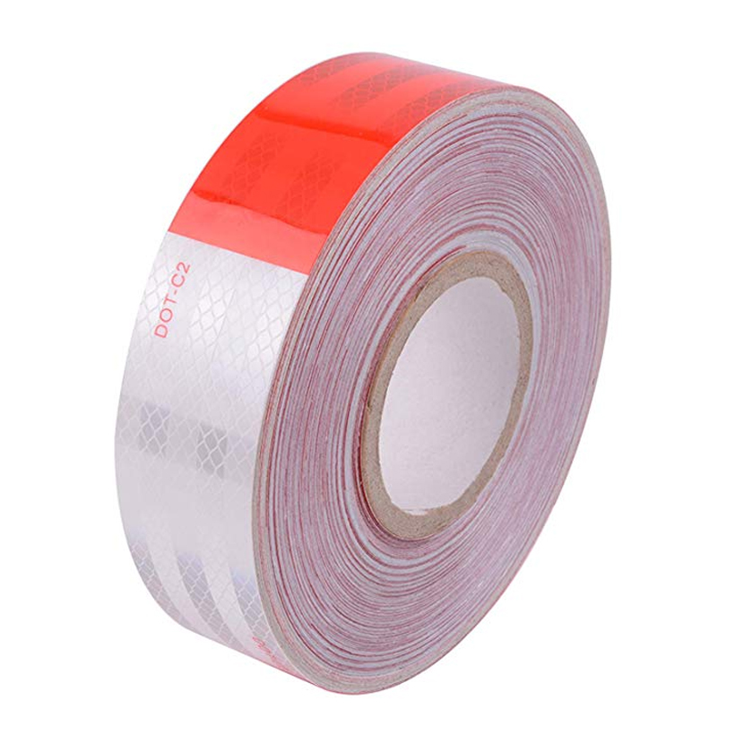 5cm X 25m Car Styling Reflective Tape Stickers Decoration Film Motorcycle Safe Baby Car Reflect Safety Warning Tape