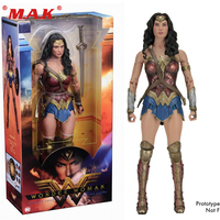 For Collection 1/4 Scale Female Action Figure Wonder Woman PVC 18 inches Action Figure Doll Toys Collectible Gift